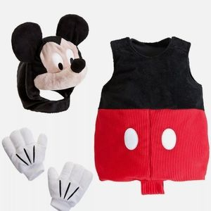 NWT Disney Mickey Mouse Baby Costume Size 12-18